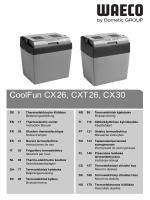 CoolFun CX26, CXT26, CX30