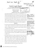 Ricorso al tribunale - USP di massa carrara
