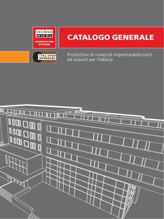 Catalogo generale - Italiana Membrane