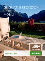 grigliati e recinzioni fioriere mobili