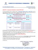 Circolare Coppie Open 2015
