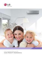 pdf climatizzazione residenziale lg