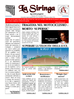 La Siringa 20 - novembre 2011 - Liceo Scientifico Galeazzo Alessi