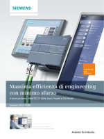 Massima efficienza di engineering con minimo sforzo