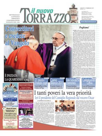 21/02/2015 - Il Nuovo Torrazzo
