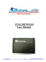 JTAG RENESAS User Manual