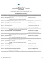 lista delle candidature pervenute KA2 VET