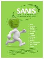 Sanis brochure 2014-2015 - Federazione Ordini Farmacisti Italiani