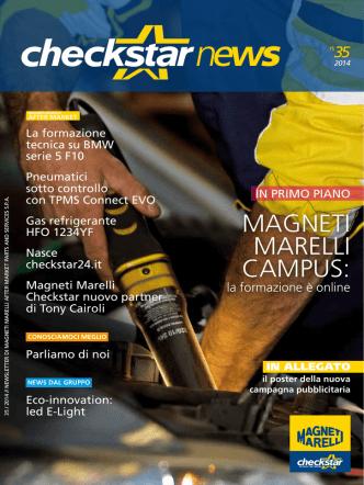 Checkstar News n. 35 - Magneti Marelli Checkstar