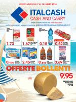 9,95 OFFERTEBOLLENTI - Italcash – Cash and Carry