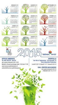 Calendario Spilimbergo 2015 - italiano/inglese - pdf