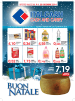 20 dicembre 2014 - Italcash – Cash and Carry