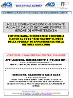 Com 13 - AICS Vicenza