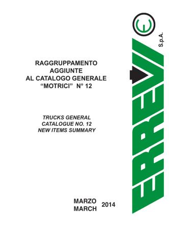 00_Raggruppamento aggiunte Catalogo MOTRICI n.12_marzo 2014