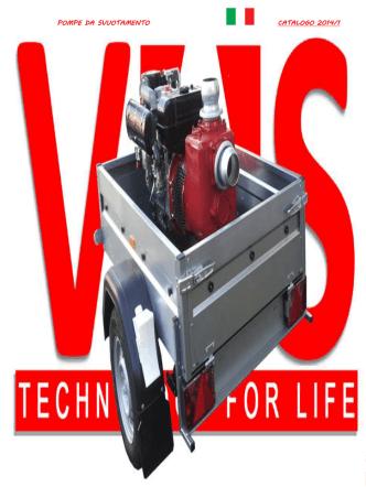 Catalogo Pompe Idrovore da Svuotamento 2014 v1