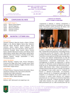 Bollettino n° 6 - Altri siti Rotary Club