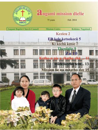 AMD February 2014 - Angami Baptist Church Council