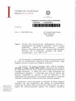 Consiglio Nazionale Ingegneri - Circ. 480