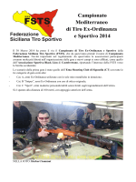 Campionato Mediterraneo di Tiro Ex-Ordinanza e