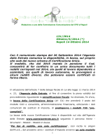 N° 131/2014 - Ordine CDL Napoli