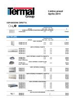 Listino prodotti Termal 042014