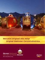 Mercatini Originali Alto Adige Original Südtiroler
