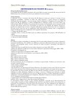 DISPOSIZIONI DI TESSITURA(BOZZA)