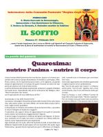 20/02/2015 Il soffio n°27 - Comunità Regina degli Apostoli