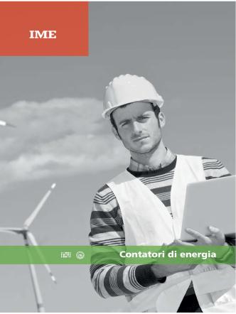 Contatori di energia | minicatalogo 2014