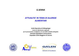 allergia alimentare - AUSL Città di Bologna
