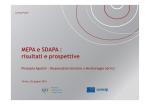 Il MEPA e SDAPA - risultati e prospettive [modalità