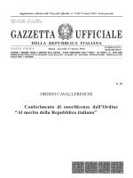 GAZZETTA UFFICIALE - Il sole 24 Ore