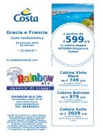€599 p/p - Rainbow Blu