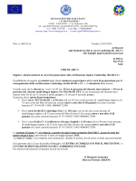 Circolare - Liceo Scientifico Statale Battaglini