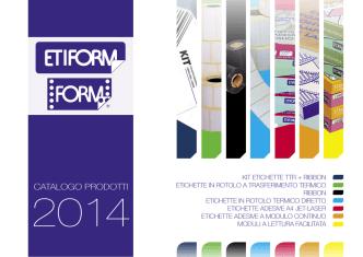 Catalogo prodotti 2014