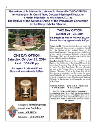 August 3, 2014 - Church of Saint Mel