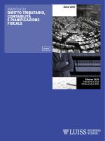 Diritto tributario, contabilità e pianificazione fiscale