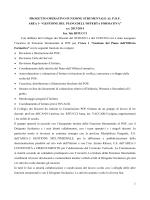 PROGETTO OPERATIVO FUNZIONE STRUMENTALE AL P.O.F.