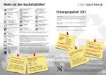 Entsorgungsblatt 2015 - Einwohnergemeinde der Stadt Solothurn