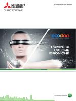 POMPE DI CALORE IDRONICHE - Ecodan