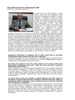 intervista al segretario generale csa francesco garofalo