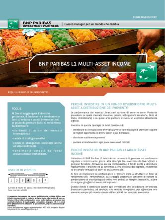 bnp paribas l1 multi-asset income - BNP Paribas Investment Partners