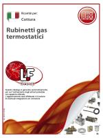 Rubinetti gas termostatici