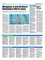 Trofeo di Seregno Nuoto: Campionati Regionali Sincro