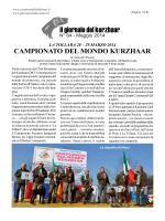 CAMPIONATO DEL MONDO KURZHAAR di Giancarlo Passini