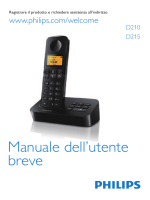 D210/215 Italian short user manual