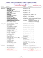 ELENCO CONVENZIONI CRAL OSPEDALIERO VOGHERA www