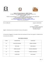 Coordinatori e segretari IPSSEOA e Liceo Scientifico a.s.2014-15