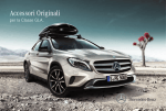 Accessori Originali per la Classe GLA - Mercedes