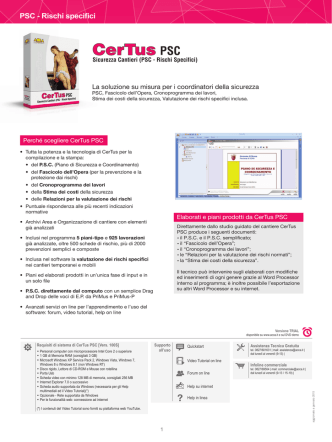 CerTus PSC - ACCA software